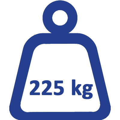 225kg swl weight